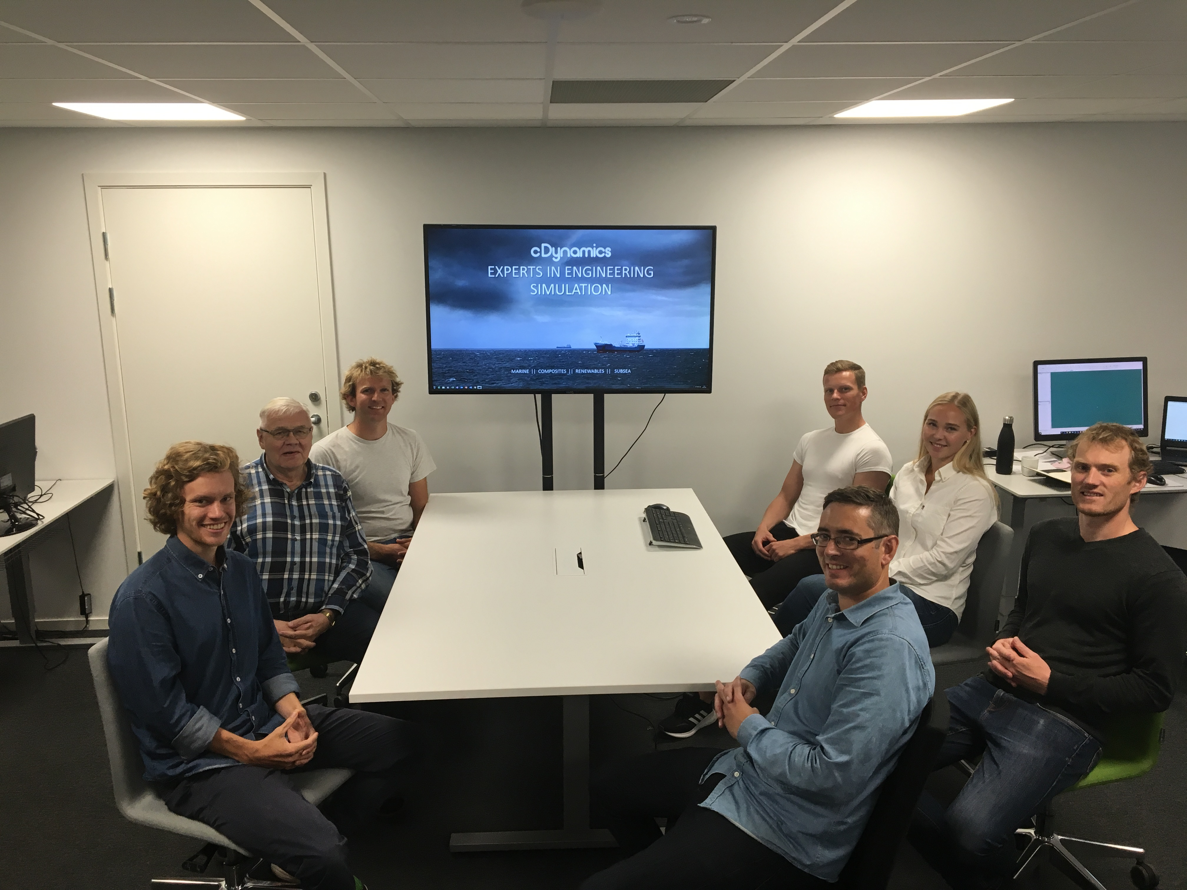 cDynamics welcomes new employees